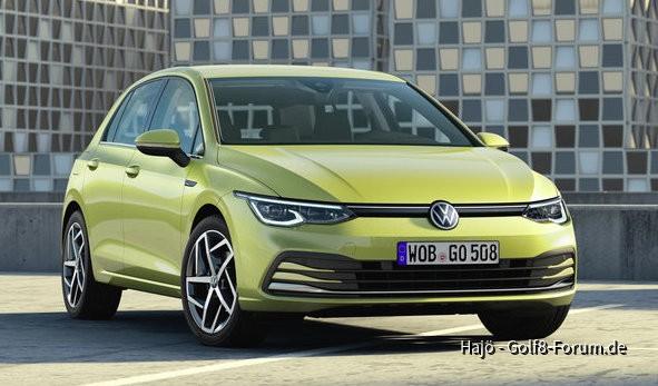 VW Golf 8 Front